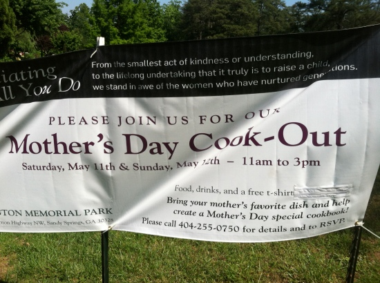 Mother's Day Cook out