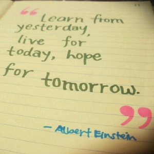 quote - live - einstein