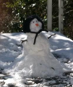 Evan the snowman