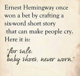 quote - ernest hemingway