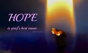 quote - hope and light