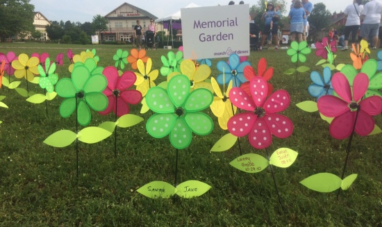 March of Dimes 2015 - memorial garden