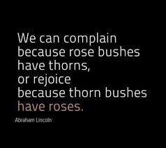 quote - roses - Lincoln